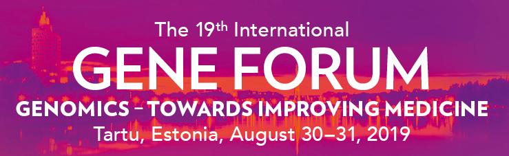 Gene Forum 2019