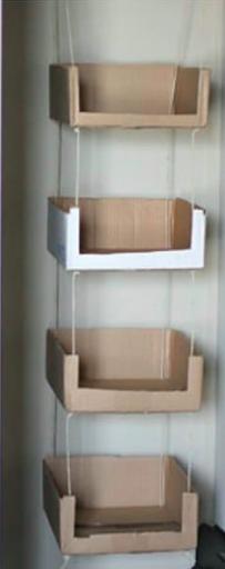 cardboard box_alternative use